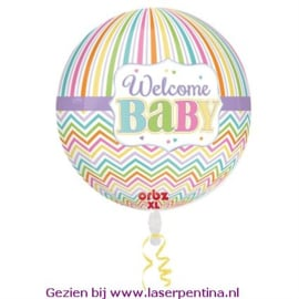 Folie Ballon Welcome Baby