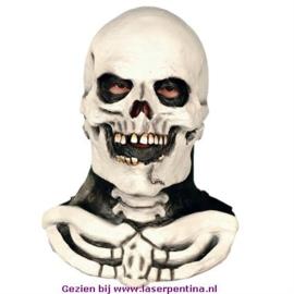 Doodskop met Hals Masker