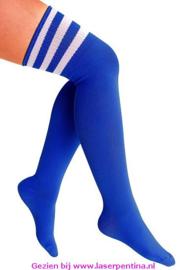 Kousen Lies kobalt blauw