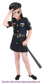 Politie Meisje Kids
