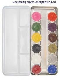 Schminkpalet basic 12 kleuren