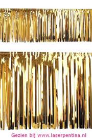 PVC Slierten folie  goud