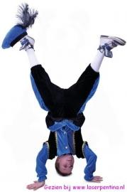 Piet blauw-zwart Kind