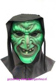 Heks vynil Masker groen