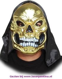 Skull Masker  goud
