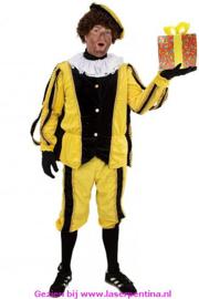 Piet plushe zwart/geel