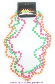 Parelketting fluo