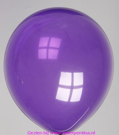 Effen Ballon deco purple 12