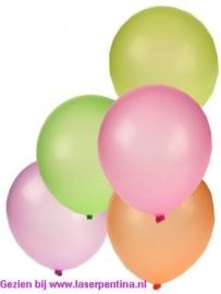 """Effen Ballon 10"""" Neon"""