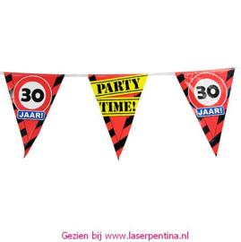 Vlaggenlijn 30 jaar PARTYTIME