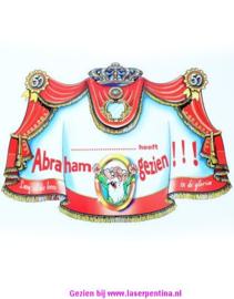 Kroonschild .... heeft Abraham gezien