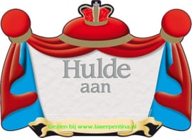 Kroonschild Hulde aan…..