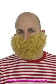 Baard kort blond