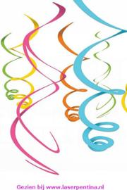 Spiralen Decoratie Regenboog