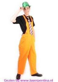 Tuinbroek fluo oranje
