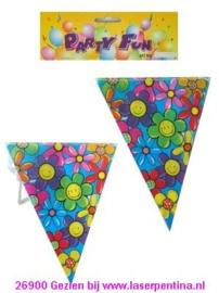 Vlaggenlijn Verjaardag Bloem