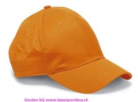 Cap oranje 6 pands
