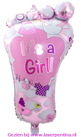 "Folie Ballon  Shape ""Ít's a Girl"""