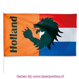 Gevelvlag Leeuw Holland