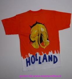 T-Shirt Holland Leeuw