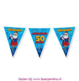 Vlaggenlijn Cartoon ABRAHAM