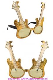 Gitaarbril metalic multi