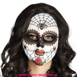 Mrs Day of the Dead Masker