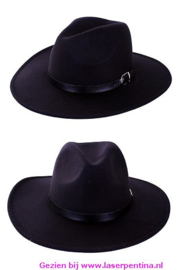 Cowboyhoed Texas Ranger zwart
