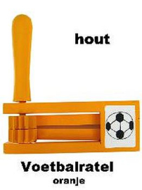 Ratel hout Voetbal