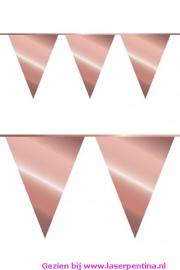 Vlaggenlijn rosé goud