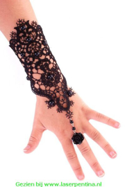 Armband / handschoen kant