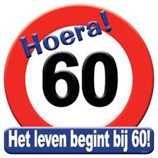 Verkeersbord '60'