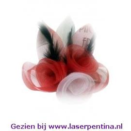 Broche Tule 3 Bloemen