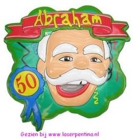 Wanddeco 3D Abraham
