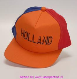 Baseballcap Holland o/r/w/b