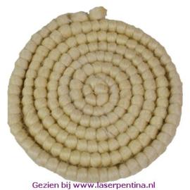 Wolcrêpe naturel