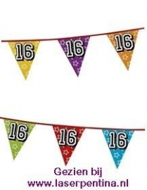 Vlaggenlijn Holographic '16'