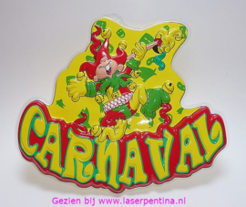 Wanddeco Carnaval