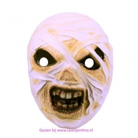 Zombie masker volw.