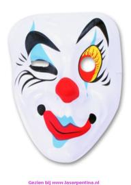 Pierrot Masker  Knipoog