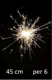 'Vuurwerk' Sterretjes 45 cm