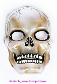 Skull Masker transparant