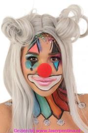 Clown Schuimneus  rood
