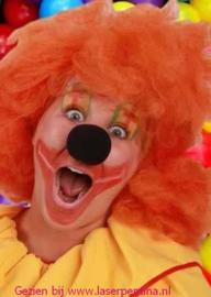Clown Schuimneus Micky  zwart