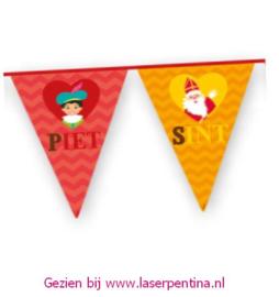 Vlaggenlijn Piet en Sint