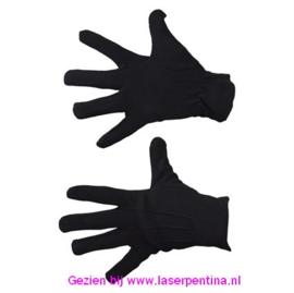 Handschoenen effen zwart