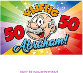 Bord 3 D  Abraham  58x38 cm