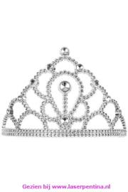 Tiara Kam Prinses zilver