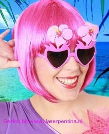Bloemenbril pink