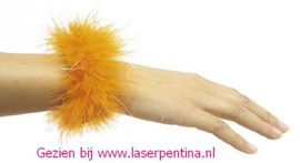 Polsband Glamour Oranje